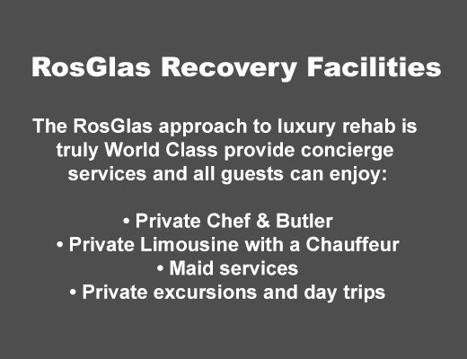 Rosglas Recovery Facilities List