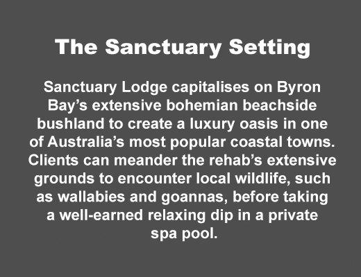 Sanctuary Byron Bay Setting
