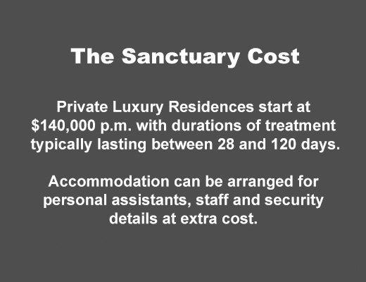 Sanctuary Byron Bay Price List