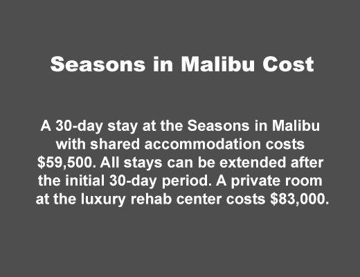 Cost of Seasons Malibu