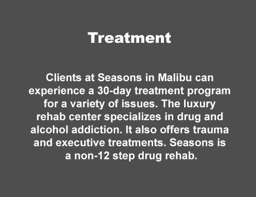 Treatment at Seasons Malibu