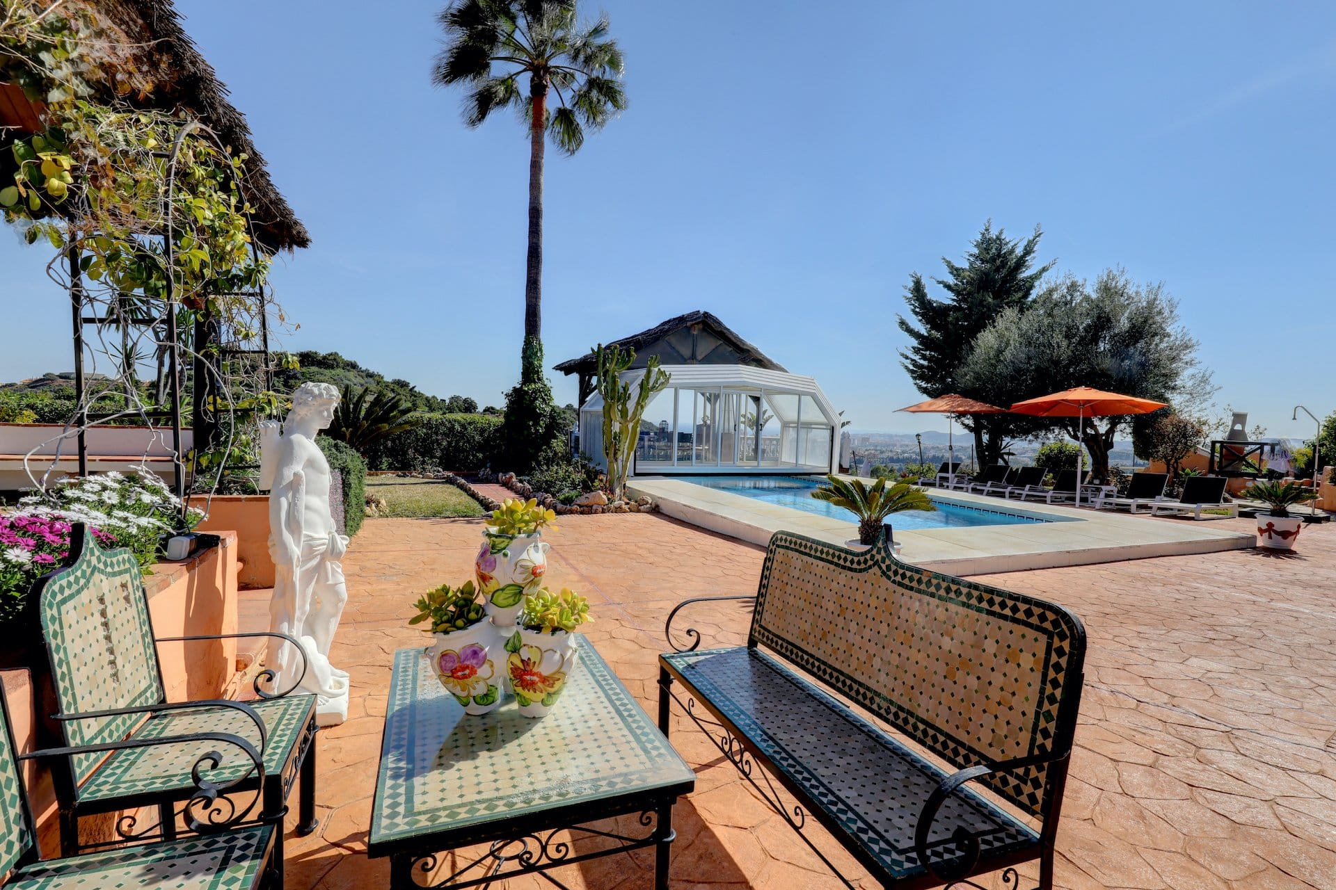 Villa Paradiso Rehab Spain Pool